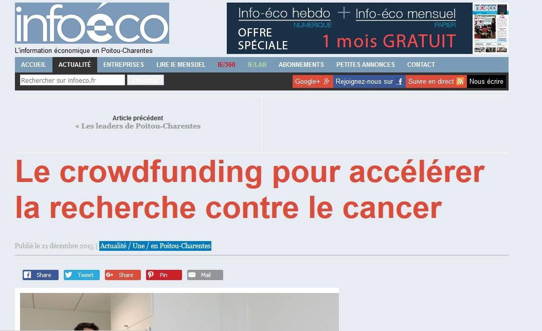 Article de presse Info-éco