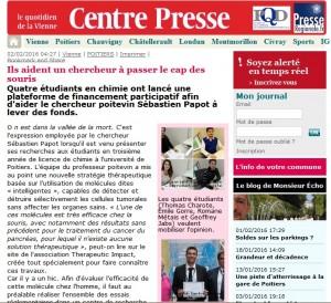 centre presse site