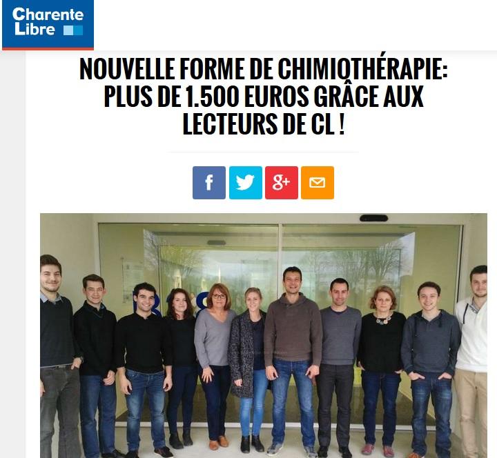 Article de La Charente Libre