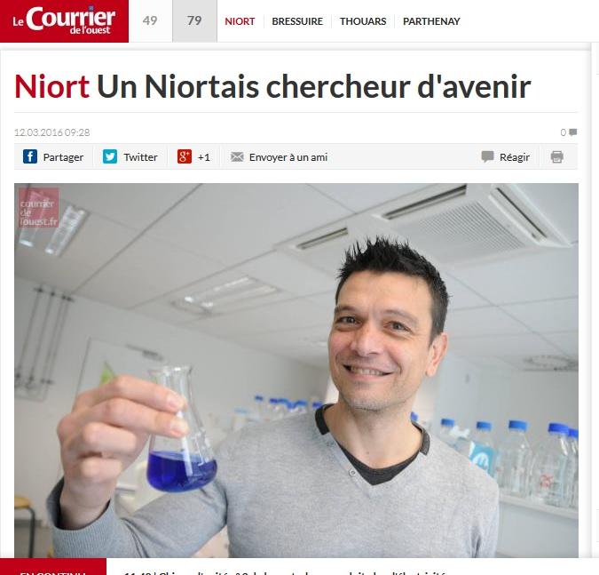 Niort Un Niortais chercheur d'avenir